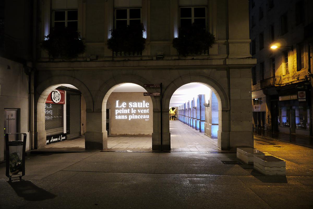 Studio by night mise en lumi re des arcades de l h tel - Piscine saint etienne de saint geoirs ...