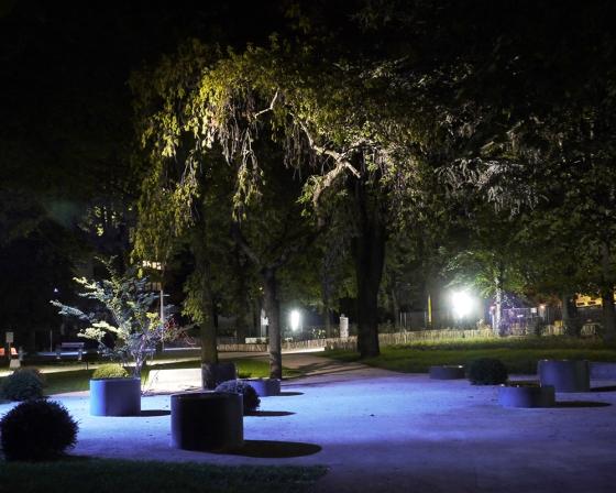 Réaménagement paysager du parc Vincent Brunon – Firminy