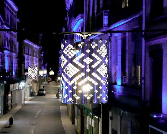 Mise en lumière de la rue de la République – St Chamond