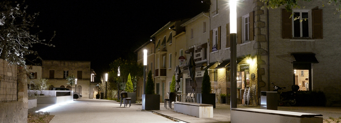 Réaménagement de la Place de Verdun – Brindas