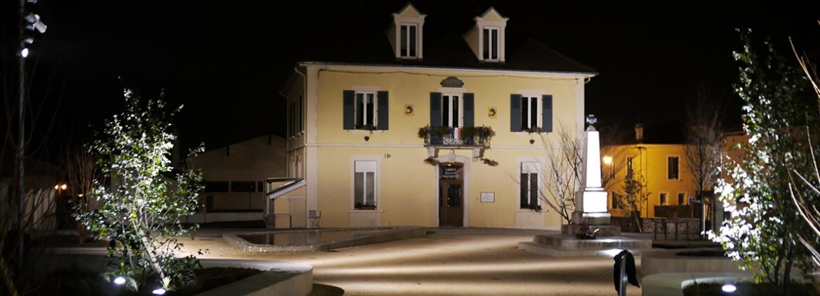 Aménagement de la place du Champs de Mars – St jean de Moirans