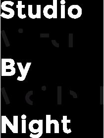 logo studio by night